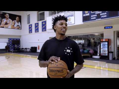 Behind the Scenes: Nick Young Arrives on Warriors Ground