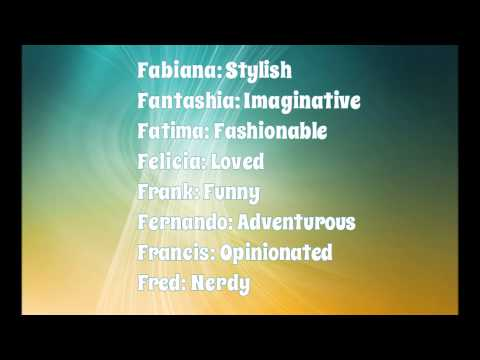 What Your Name Means