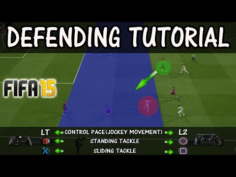 FIFA 15 DEFENDING TUTORIAL + How to defend against PACE ABUSERS / In-Game Examples FUT & H2H