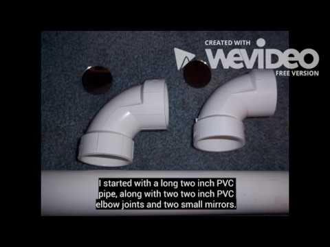 PVC periscope