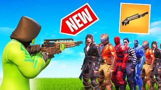 *NEW* Fortnite Gun Experiment! (1 Bullet = 20 KILLS?!)