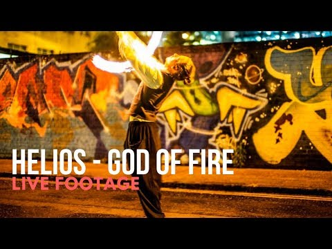 Helios - God Of Fire // Live Performance // Book Now at Warble Entertainment
