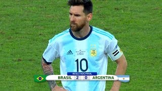 Lionel Messi Performances in Argentina's Hardest Losses ● The One To Blame?   HD