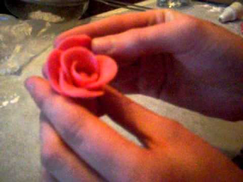 marzipan roses.