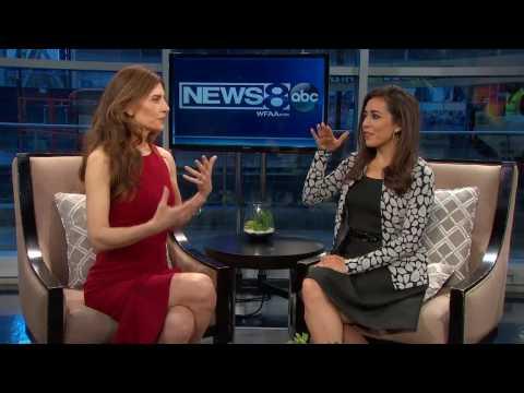 Karena Virginia Shares Kundalini Yoga on ABC News