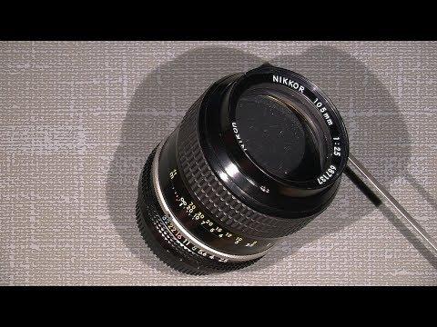 Re-grease  Non-ai Nikon NIKKOR 105mm 1:2.5  PART 1