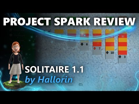 Project Spark Review: Solitaire