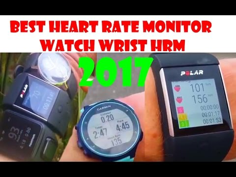 Best Heart Rate Monitor Watch Wrist HRM 2017! (Top 3 Review)