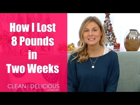 How I Lost 8 Pounds in Two Weeks | Clean & Delicious