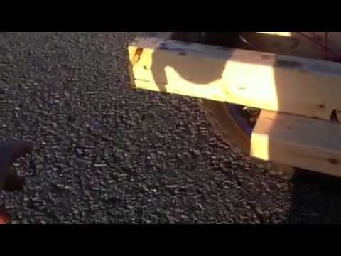 Homemade wood bike trailer, really easy and simple