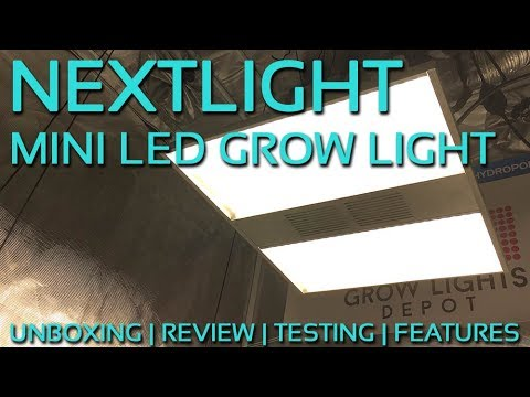 NextLight Mini LED Grow Light Review and Unboxing
