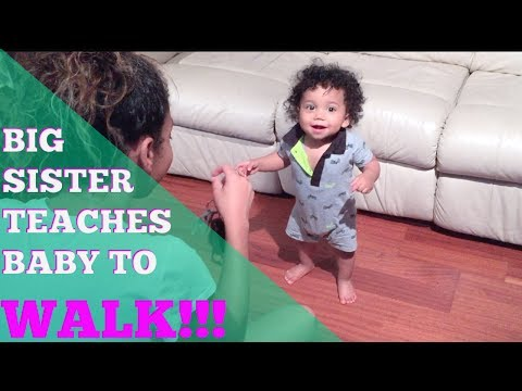 Baby's FIRST STEPS!!! | How to teach a Baby/Toddler to walk