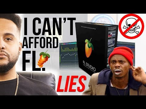 I CANT AFFORD To Buy FL STUDIO 12? MUSIC PRODUCER LIES!