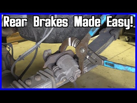 How to Change the Rear Brake Pads and Rotor Ford F-150 2004-2008