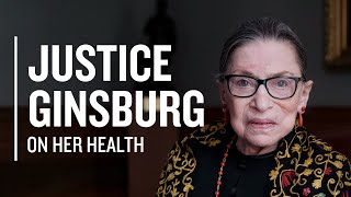 """I'm Very Much Alive."" Justice Ginsburg Talks About Her Health With Nina Totenberg 