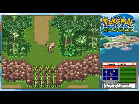 Let's Play Pokemon Ranger *Find Mew, The Mirage!*