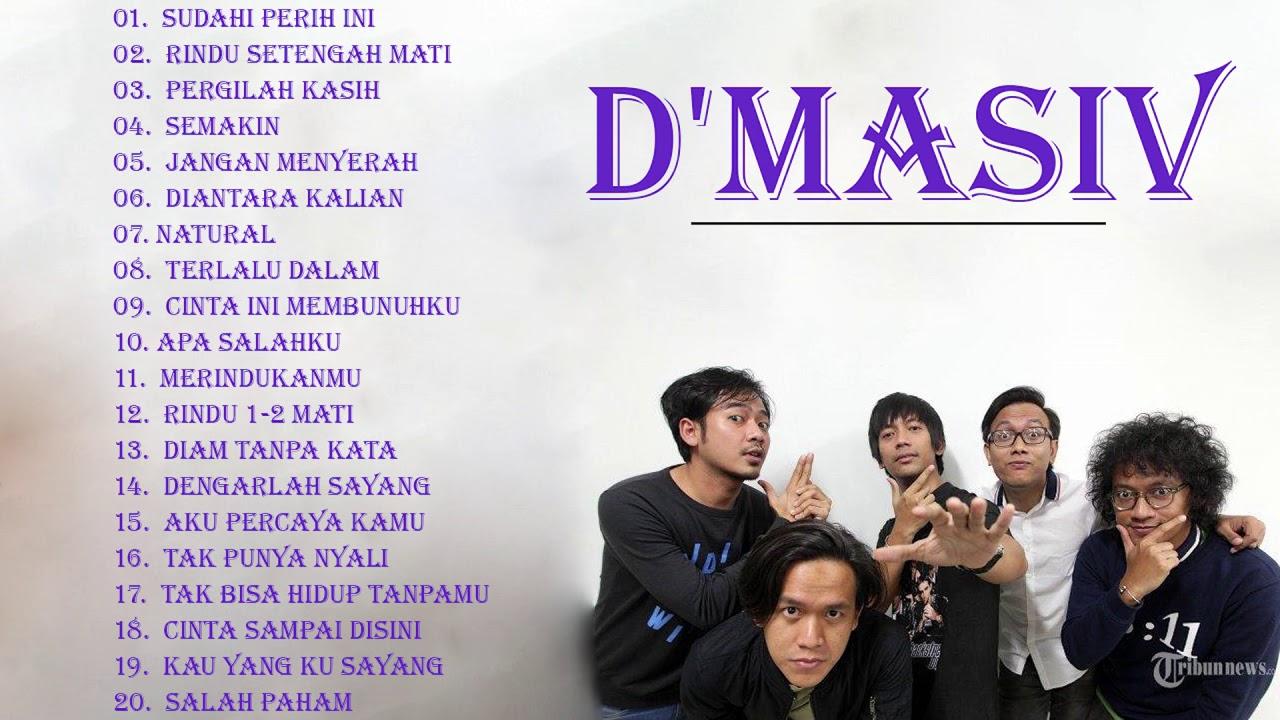 Download D'Masiv Full Album 2021 - Kumpulan Lagu D'Masiv Terbaik & Terpopuler Hingga Saat Ini MP3 Gratis