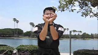 ChosonNinja NINJUTSU (kuji kiri / kooji Kirim #1) video #011
