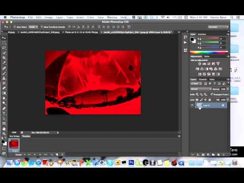 how to make a 3-D photo on photoshop CS6 (mac)