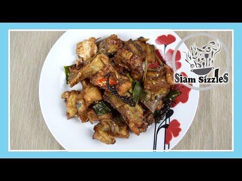 Crispy Fried Fish Stir Fry Recipe (Plaa Tord Pad Chaa)