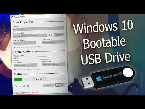 How To Make A Windows 10 Bootable USB Flash Drive | UPDATED! 2018