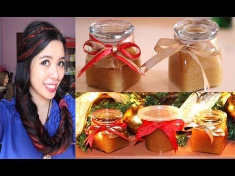 Christmas-Holiday Gift: DIY Lemon and Orange Flavor Body Scrub
