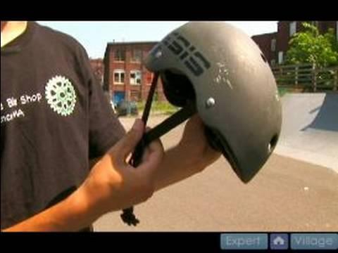 BMX Bicycle Custom Maintenance : Helmet Safety Tips for BMX Bikes