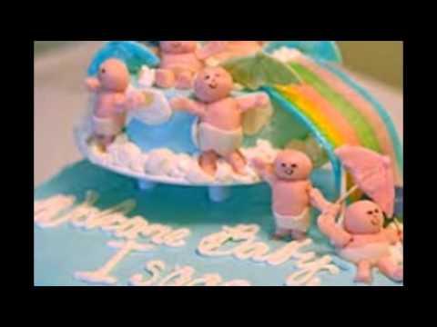 baby shower cake balls
