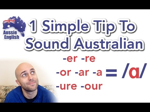 1 Simple Tip To Sound Australian: /ɑ/ | How To Do an Aussie Accent