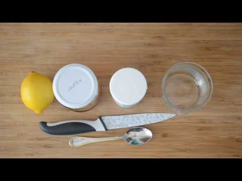 How to clean your sink? DIY Retromixer x Lemon x Baking soda