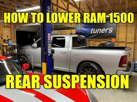 RAM 1500 Lowering Kit INSTALL - REAR Suspension 2009-2018