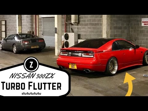 How to make Turbo Flutter Noise on Nissan 300zx Twin Turbo | Vlog 18