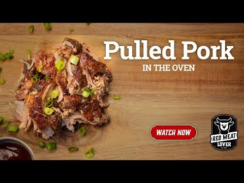 Pulled Pork Recipe Baked in Oven by Red Meat Lover