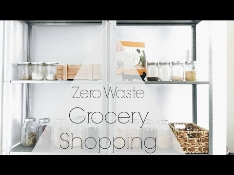How to Zero Waste Grocery Shop | Bulk Bin Shopping at Whole Foods