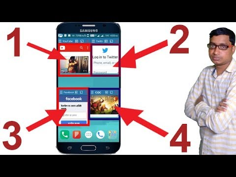 How to run multiple app on your mobile?