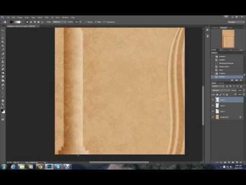 How to Make a Drape and a Column