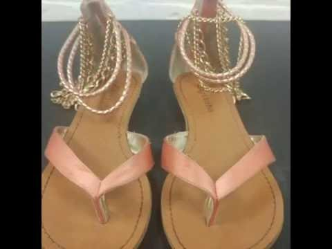 CLEAN: Satin Dress Sandals | Mr Fresh Laundry Services