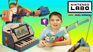 Nintendo LABO Review by HobbyKidsTV
