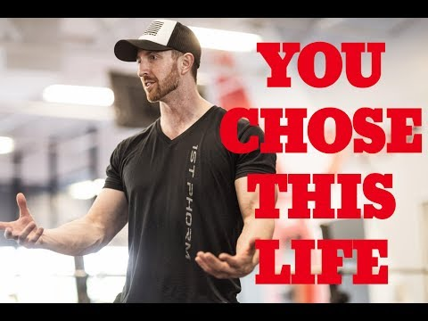 You Chose This Life- Stop Complaining!