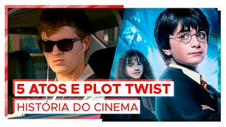 Os 3 ATOS e o plot twist! | HISTÓRIA DO CINEMA #5