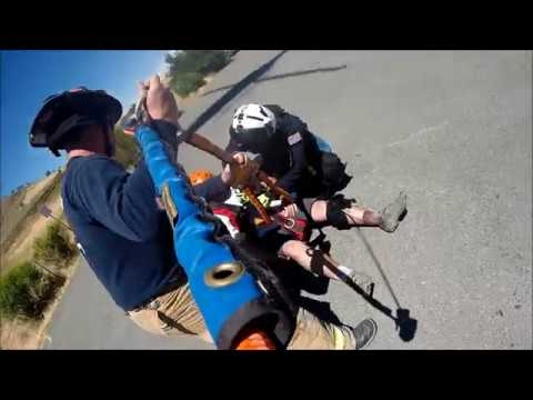 Sheriff's Office STARR 3 Helicopter Rescues Injured Biker