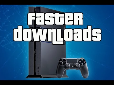PS4 Tips -  Faster Download Speeds!