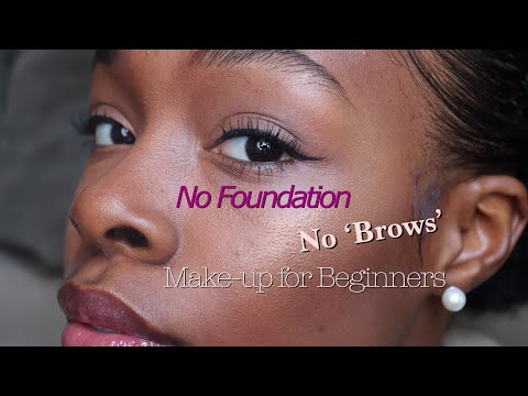 Yay or Nay?| Make-Up Routine w/ No Foundation & NO 'BROWS'