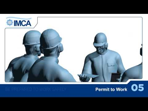 Permit to work (French version)