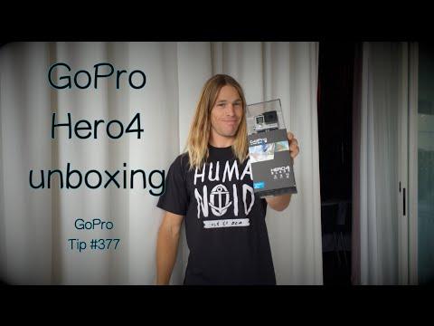 GoPro Hero4 Black Edition Unboxing - GoPro Tip #377