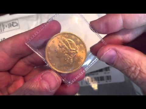 $20 USA 1893 Liberty Gold Double Eagle arrives from HGM today