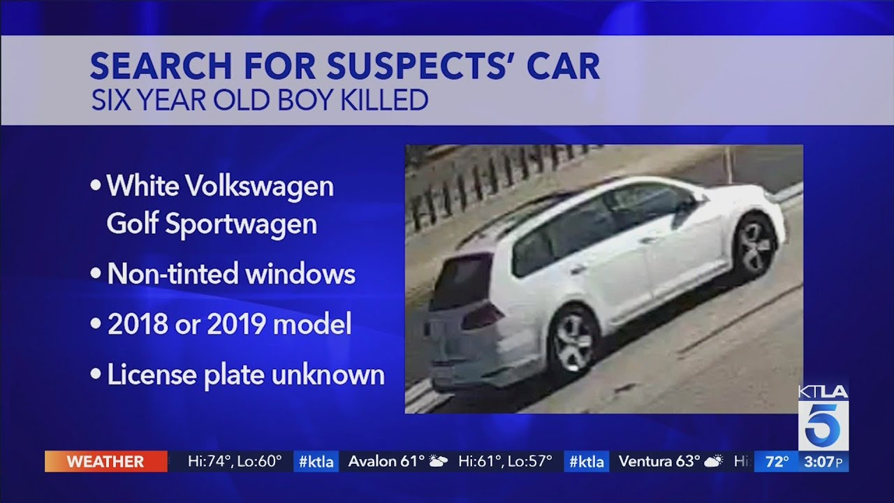 Search intensifies as CHP releases photo of suspects' car in road rage killing of 6-year-old boy