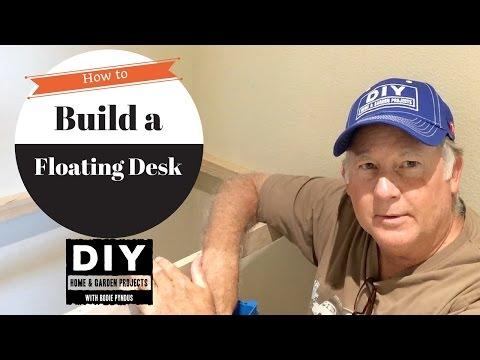 Floating Desk Build - Part 1