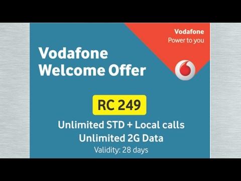 Vodafone new plan 249 , unlimited calls and unlimited 2g internet 28 days.. அதிரடி பிளான்..........