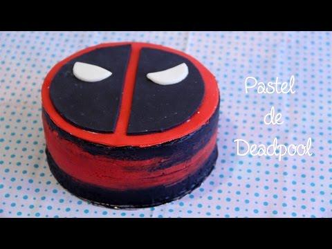 PASTEL DE DEADPOOL FÁCIL// DEADPOOL CAKE